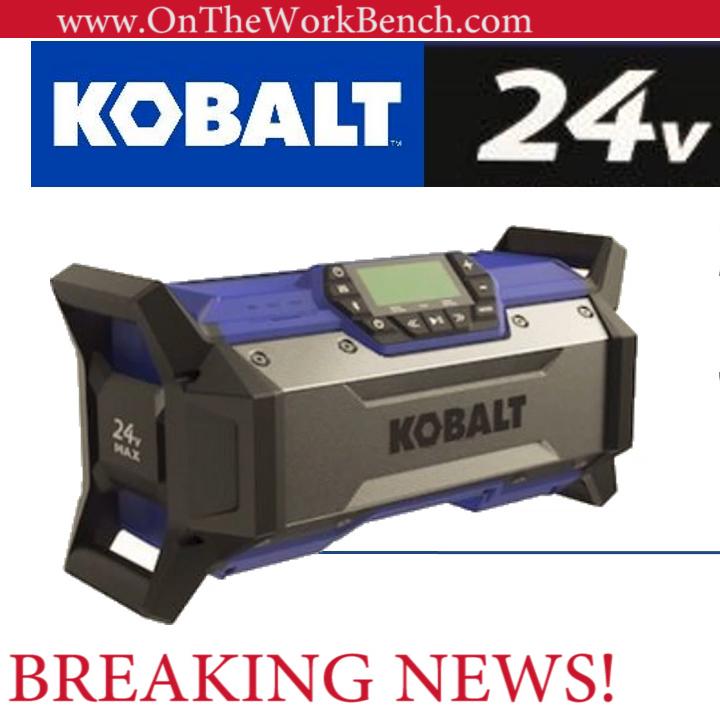 Kobalt Jobsite Radio